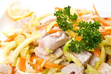 Fish Taco-less Salad